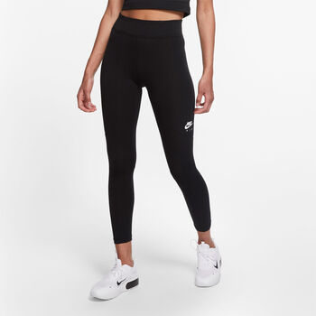 Nike Air 7/8 Leggings Damer Sort
