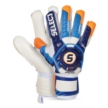 Select Goalkeeper Gloves 34 Protec Blå