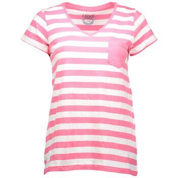 etirel Maja Stripe Top Damer Pink