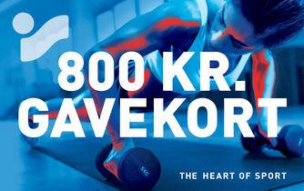 Gavekort 800,00