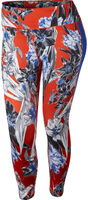 One Floral Training Tights (Plus Size)