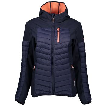 CMP Fix Hood Hybrid Jacket Damer Blå
