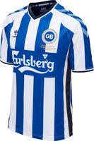 Hummel Odense Boldklub Legend Jersey SS 2017 Blå