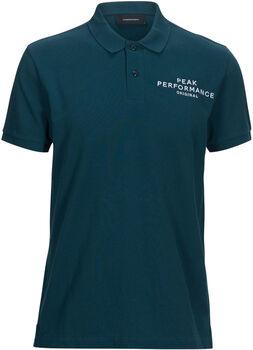 Peak Performance Logo Pique Herrer