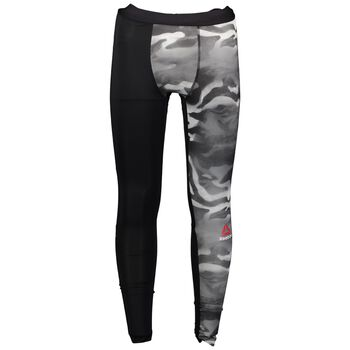 Reebok Spray Camo Compression Tight Damer Sort