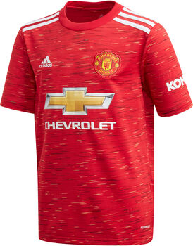 adidas Manchester United FC 20/21 Hjemmebanetrøje Junior