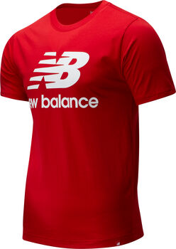 New Balance Essentials Stacked Logo T-shirt Herrer
