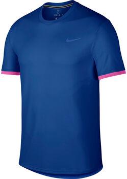 Nike Court Dry SS Top Colorblock Herrer