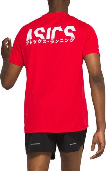 Katakana løbe T-shirt