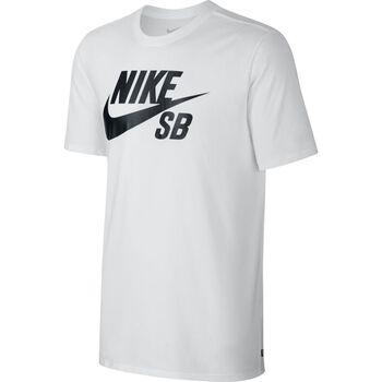 Nike SB Logo Tee Herrer Hvid