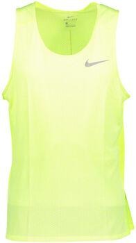 Nike Breathe Miler Tank Cool Herrer Gul