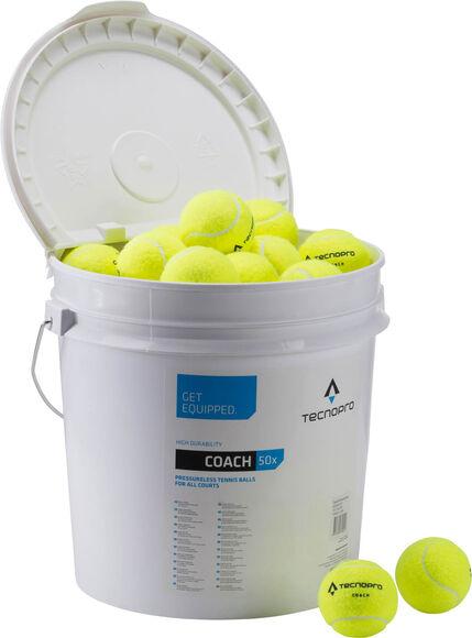 Coach 50-Ball Bucket Tennisbolde