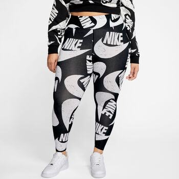 Nike Sportswear Leggings (Plus Size) Damer Sort