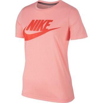 Nike Sportswear Essential T-Shirt Damer Pink