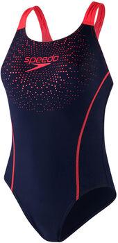 Speedo Gala Logo Medalist Swimsuit Damer